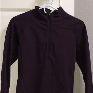 Lululemon maroon quarter zip